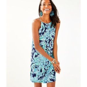 Lilly Pulitzer Margot Dress in High Tide - Sz XS